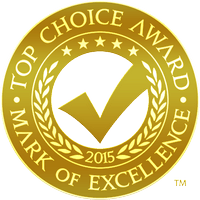 Top Choice Awards Mark of Excellence - Camilia Clinic